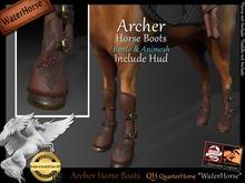 *.* Archer Horse Boots-WH-QuarterHorse  - wear to unpack