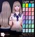 [^.^Ayashi^.^] Emily hair-Light set