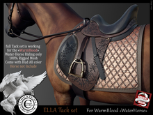 (*.*) ELLA tack set WarmBlood WH v2b  - wear to unpack