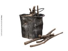 Nutmeg. Garden Junk Bucket