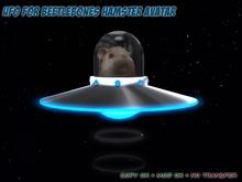 UFO for Beetlebones Hamster Avatar