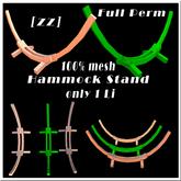 [zz] hammock stand mesh full perm 1LI--add to unpack