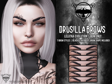 + [QUOTH] + DRUSILLA BROWS - LELUTKA EVOLUTION - BOM ONLY