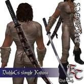 DIABLOCS Simple Katana 2.0 BOX
