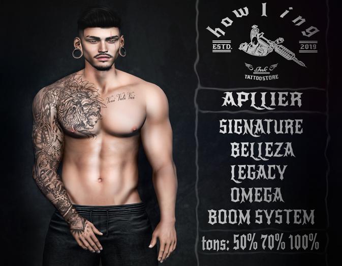 [ H O W L I N G ]- IRA. Tattoo