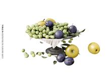 Nutmeg. Orchard Harvest Grapes