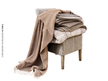 Nutmeg. Summer's End Chair w/ Blankets