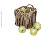 Nutmeg. Summer's End Apple Basket