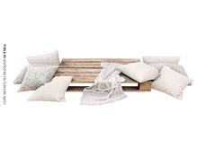 Nutmeg. Seashore Pallet & Pillows PG
