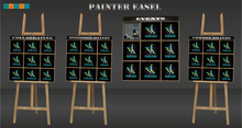 :::Multi Design::: painter easel (collabrating)