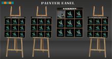 painter easel (bilboard)