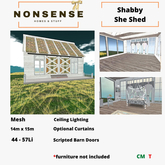 Nonsense Shabby She Shed