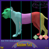 [MC]  Rainbow Fatpack Twi Lion Coats [wear to unpack]