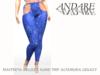 Andare - Carole Leggings Sequin Blue