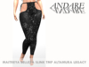 Andare - Carole Leggings Sequin Black