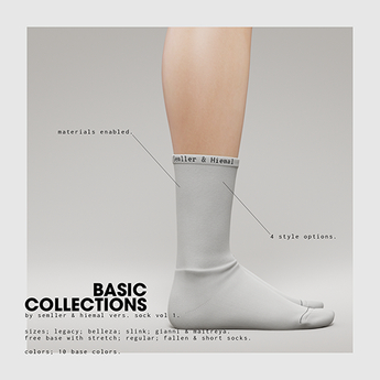Semller & Hiemal Basic Collections Socks Volume 1 (Base Pack)
