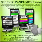 # SLD INFO Mesh Panel Shop Version 2020