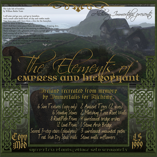 The Elements of Empress and Hierophant (WAS $1,999 -> NOW ONLY $499!)