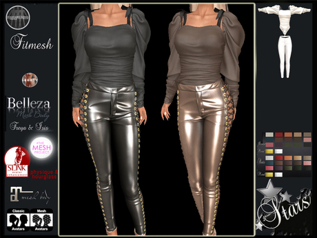 PROMO Stars - Maitreya, Slink, Belleza - Lynn2 pants & top
