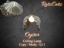 .: RatzCatz :. Ceiling Lamp *Oyster*