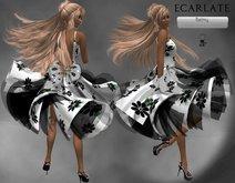 Ecarlate - Dress  White/ Robe  Blanche - Balmy