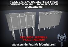 ~Full perm sculpted high definition billboard + Maps!