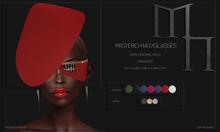 Mistero Hat&Glasses by Madame Noir