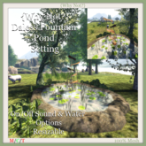 {Why Not?}Daless Fountain Pond Setting-Boxed