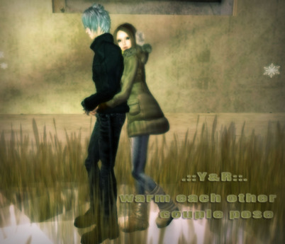 .::Y&R::. Warm each other couple pose(boxed)