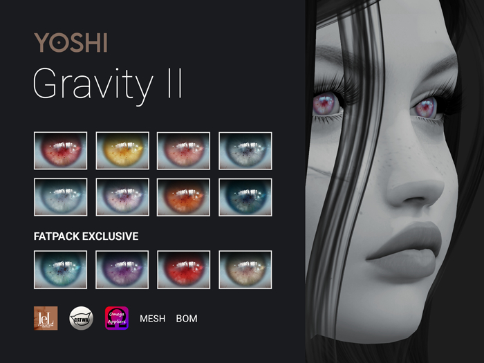 YOSHI - Gravity Magical Eyes - Pack