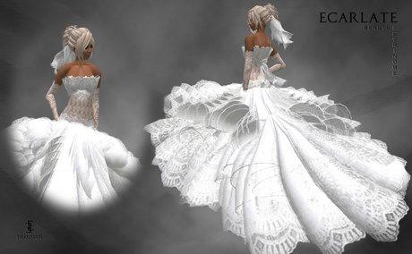 Ecarlate - Dress Mariage Beauty / Robe Mariage Beaute - Fevrinome