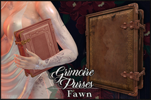 :[P]:- Grimoire Bag & Clutch:// Fawn