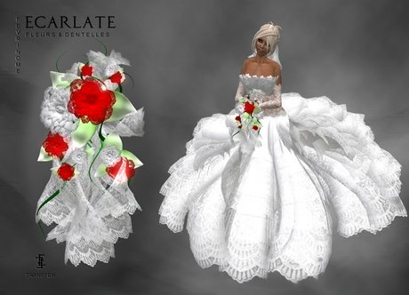 Ecarlate - Bouquet Marriage - Fevrinome