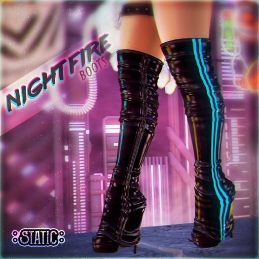 ::Static:: Nightfire Boots