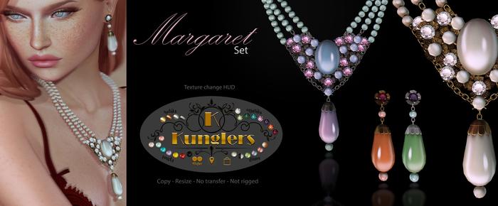 KUNGLERS - Margaret set