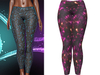 !PCP :: Kore Leggings [Galaxy Magenta]