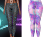 !PCP :: Kore Leggings [Galaxy Candy]