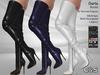 C&S Darla Boots for Maitreya Lara, Slink Hourglass and Legacy. 40 Textures HUD. 5 Metals