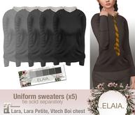 .Elaia. Uniform sweater {Maitreya} Greys