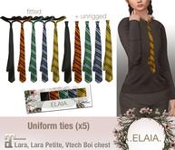 .Elaia. Uniform tie {Maitreya} Four houses