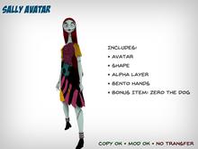 Sally Avatar with Bento Hands (Nightmare Before Christmas)