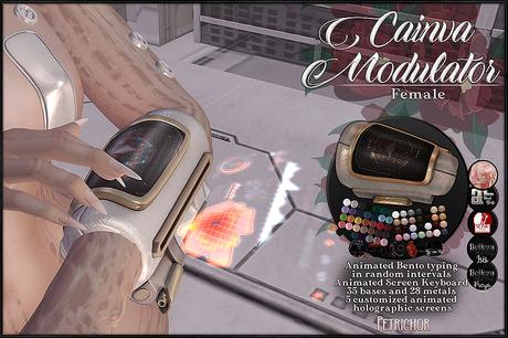 :[P]:- Cainva Modulators [Female]