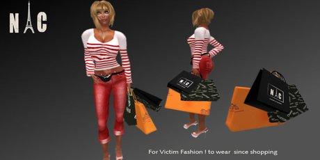 Shopping Bag for Fashion Victim NC paris