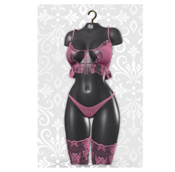 MAAI Mateya lingerie * Lara&Legacy * Pink