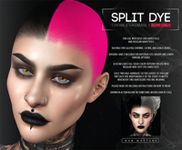 <Nar> Split-Dye Hairbase // BOM ONLY