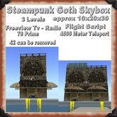 Flying Steampunk Goth Skybox Shop Dungeon