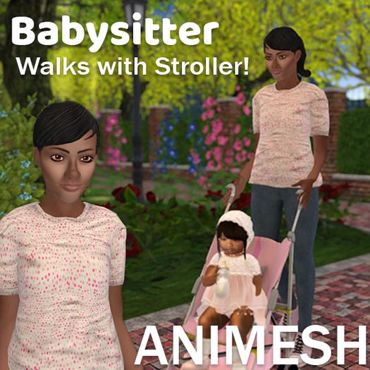Jewel: Animesh Babysitter with Stroller Maggie