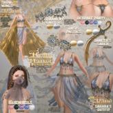 :Moon Amore: BellyDance /Dancer's Saber- GOLD