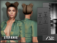 Ade - Stefanie Hairstyle (Greyscale)