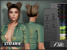 Ade - Stefanie Hairstyle (Colored Highlights)